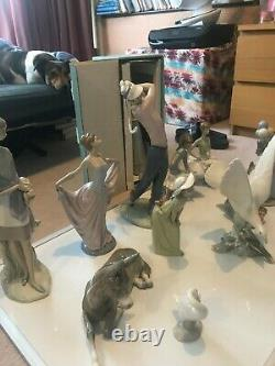 12 Original Lladro figurines in mint condition NO RESERVE Job Lot