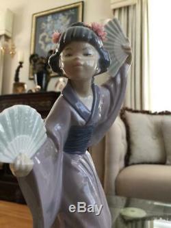 1978 Retired LLADRO ORIENTAL Figurine MADAM BUTTERFLY 4991