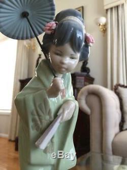 1978 Retired LLADRO ORIENTAL SPRING # 4988 Figurine ExCond Japanese Geisha