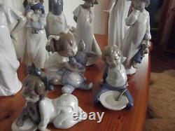 9 nao porcelain figures