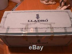 A Stunning Boxed Lladro 5324 English Lady With Parasol Figure