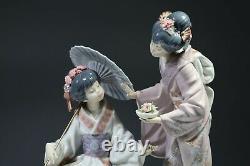 BEAUTIFUL LLADRO SPAIN SPRINGTIME IN JAPAN LGE RARE FIGURINE No1445 RETIRED