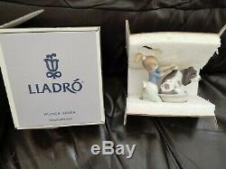 BOXED Lladro BASHFUL BATHER No. 5455 MINT