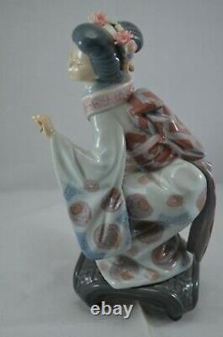 Delightful Lladro Geisha Figure Yuki Ref. No. 1448