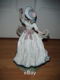 Enchanting Large Lladro Spring Joy Figurine 6106 1st Quality Mint