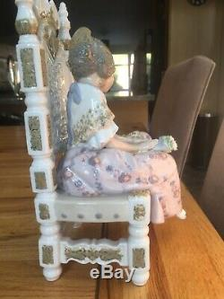 Exquisite Lladro Figurine Second Thoughts 1397 RARE