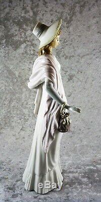 Fabulous Vintage Lladro Figure Figurine Elegant Lady Tall 35.5 CM