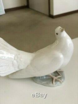 GENUINE Lladro Single Dove Figurine