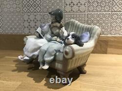 GENUINE RARE and in perfect condition Lladro Big Sister figurine