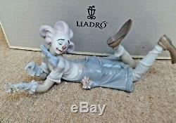 LARGE LLADRO FIGURINE CLOWN THE MAGIC OF COMEDY Juan Carlos Ferri BOXED