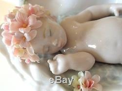 LLADRO 8031 SEA SLUMBER 1st QUALITY PORCELAIN FIGURINE NAKED SLEEPING BABY