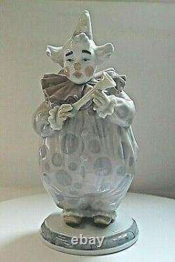 LLADRO CLOWN The Show Begins 6938 Boxed & Paperwork Porcelain