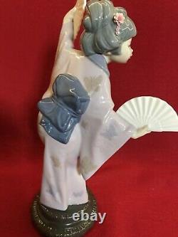 LLADRO No 4991 (Madame Butterfly Geisha) Yer 1978 With Original Box Pristine