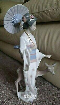LLADRO ORIENTAL FOREST 06396. Certificate and Fitted Box EXCELLENT CONDITION
