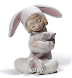 LLADRO Porcelain BUNNY HUGS 01008538