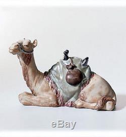 LLADRO Porcelain Gres Finish CAMEL (nativity) (01012456)