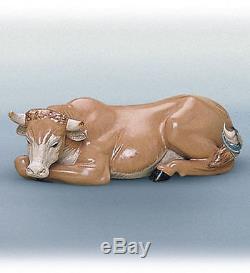 LLADRO Porcelain Gres Finish OX (nativity) (01012281)