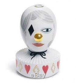LLADRO Porcelain JAIME HAYON THE MASQUERADE II BUD VASE 01007264