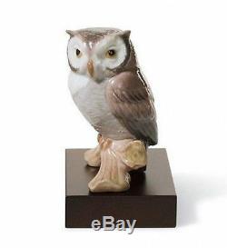 LLADRO Porcelain LUCKY OWL (01008035)