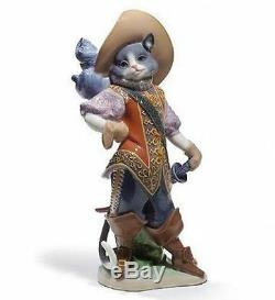 LLADRO Porcelain PUSS IN BOOTS 01008599