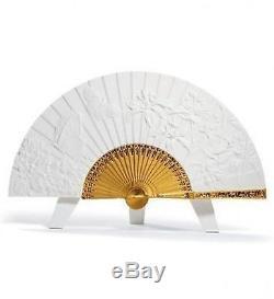 LLADRO Porcelain SPRING FAN 01008543