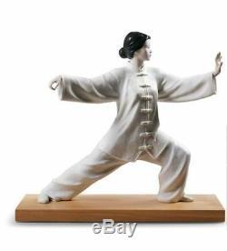 LLADRO Porcelain TAI CHI 01009226 Size 39x44 cm Height 15¼