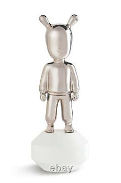 LLADRO Porcelain THE SILVER GUEST LITTLE 01007740 Size 30x11 cm Height 11¾