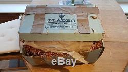 LLADRO SAD HARLEQUIN (triste arlequin) Original packaging. No 4558. Discontinued