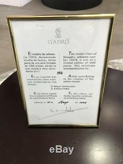 LLADRO. SUMO WRESTLERS. Great Condition