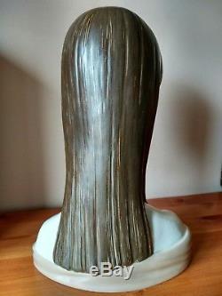 LLADRO Senorita Maja Head, tall porcelain, UK, rare excellent condition
