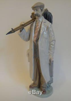 LLADRO rare large figure THE ROVING PHOTOGRAPHER figurine made from 1984 to 1985