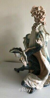 LLadro Venetian Carnival. 1816. Limited edition. Huge piece. 22.5'' tall