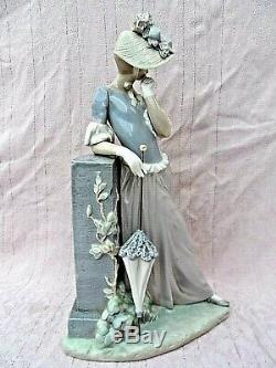 Large Boxed Retired Lladro Figurine 4850 Aesthetic Pose 15 Tall Perfect Conditi