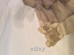 Large Lenci Figure Lady with a Dog