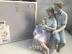 Large Lladro Circle Of Love Figurine 6986 Original Box