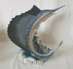 Large Rare Lladro Figurine Majesty of the Seas Fish No. 6796 Retired
