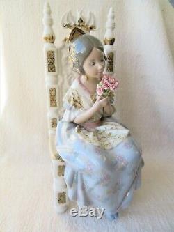 Lge Lladro Figure Appreciation Valencian Girl 1982 1997 Salvador Debon