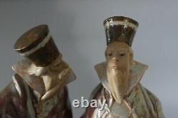Lladro 2052 The Magistrates Gres Figure