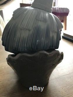 Lladro #5129 Original Court Jester Head Clown Bust