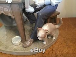 Lladro 5396 The Puppet Painter Pinocchio & Geppetto (retired In 2005)