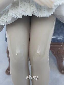 Lladro 5496 Boxed Porcelain Ballerina Figurine Ballet Girl Recital Descanso