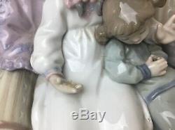 Lladro 5735 Big Sister Large Figurine Stunning Piece Read Description