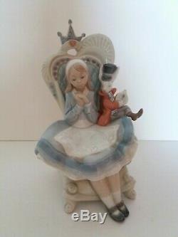 Lladro Alice in Wonderland (Privilege Gold)