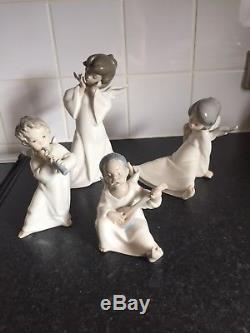 Lladro Angels Nos 4959,4537,4962,4540