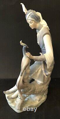 Lladro Arabian Knight. Hindu Prince. 1310. Large piece, very rare