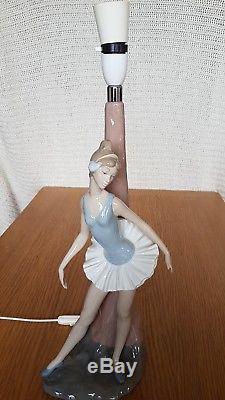 Lladro Ballerina Lamp