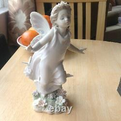 Lladro Butterfly Wings 6875 9.25cm high Issued in 2003 Excellent condition