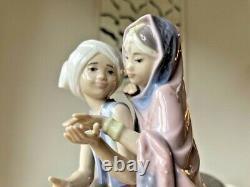 Lladro'Children On An Elephant' Figurine No. 5352