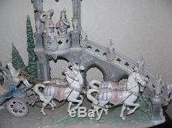Lladro Cinderella's Arrival, Rare Piece, 1785, With Base, Excellent Condition