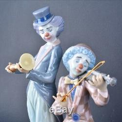 Lladro Circus Concert 5856. Clown Musicians. With Box